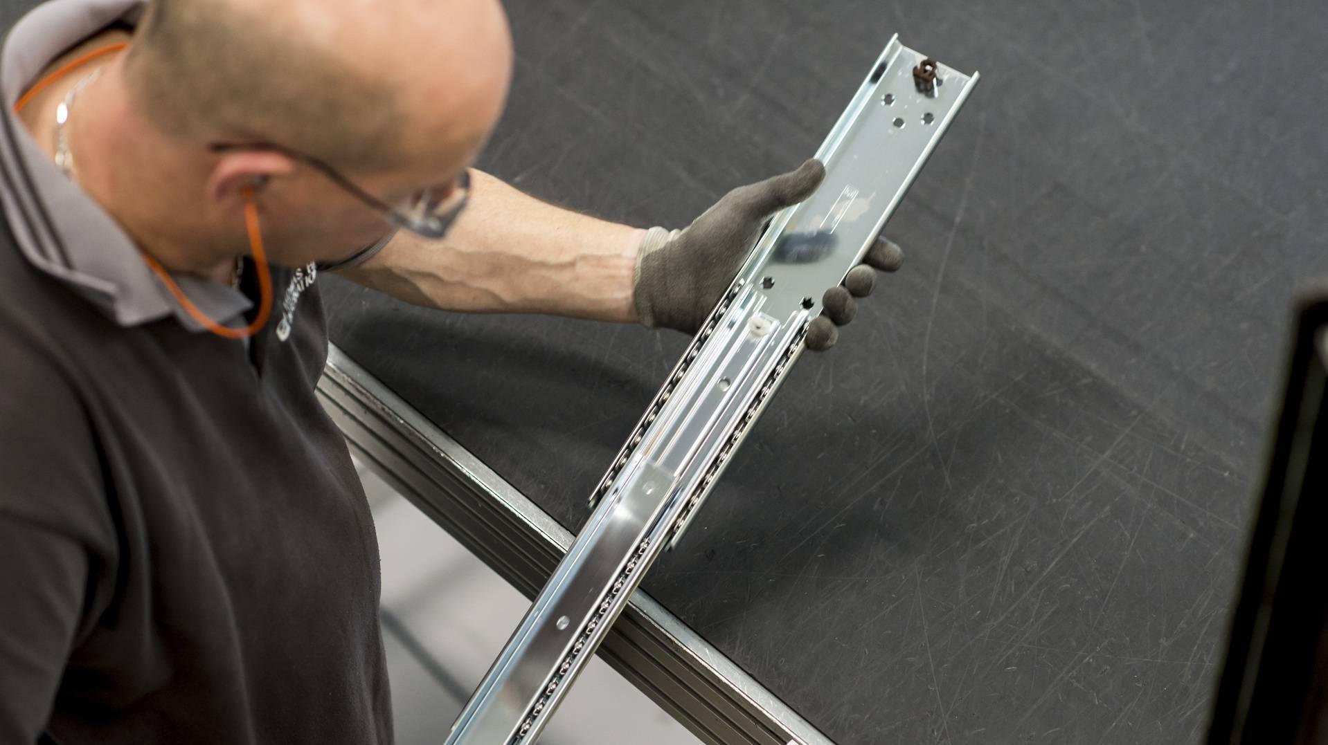 haute qualité | glissières télescopiques | Thomas Regout International B.V.