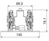 Vertikalauszug | Teleskop schienen | Thomas Regout International B.V.