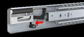 ULF HD S TR-5619 | Full extension | Telescopic slides | Thomas Regout International B.V.