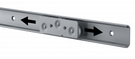 Flexfit-1529 | Linear guide | Ball bearing slides | Thomas Regout International B.V.