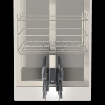 HLXB Vollauszug Kugelf/ührungen Teleskopschiene Belastbarkeit 120kg(1200mm//48inch) 3-teilig Mit Verriegelung Schubkastenf/ührungen Seitenmontage Rollenauszug